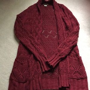 Lucky brand woven cardigan